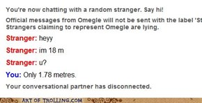 Omegle Always Makes Me Feel So Small