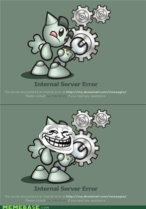 DeviantART: 500 Internal Troll Fella