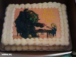 Weird Father's Day Cake