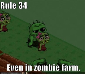 Rule 34  Even in zombie farm.