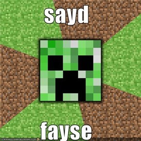 sayd  fayse