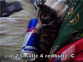 i iz 2 smallz 4 redbullz :C
