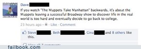 Muppets Take Manhattan backwards