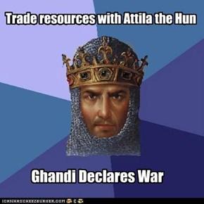 The politics of Civ 4: Warlords
