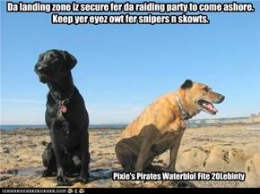 Pixie's Pirates Waterblol Fite 20Lebinty