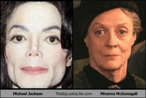 Michael Jackson Totally Looks Like Minerva McGonagall