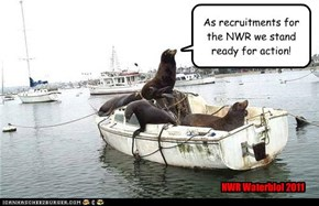 As recruitments for the NWR we stand ready for action!