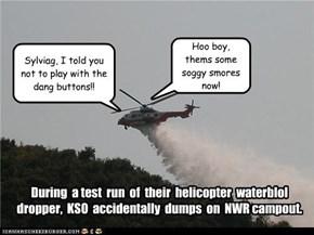 Oopsie, Sorry Team NWR!