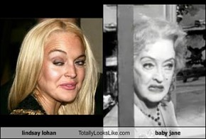 Lindsay Lohan Totally Looks Like Baby Jane
