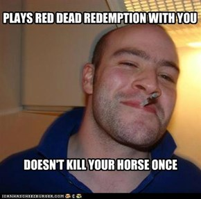 Good guy greg plays red dead redemtion