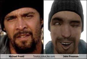 Michael Franti Totally Looks Like John Freeman