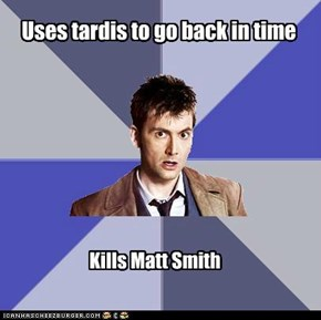 David Tennant hates Matt Smith