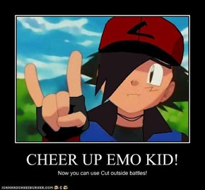 CHEER UP EMO KID!