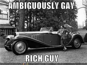 AMBIGUOUSLY GAY  RICH GUY