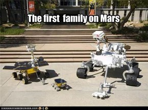 The first  family on Mars