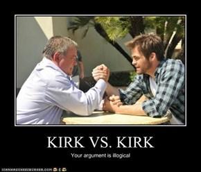 KIRK VS. KIRK
