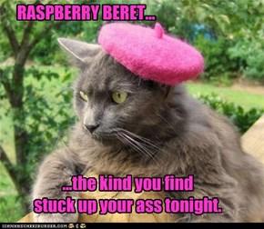 RASPBERRY BERET...
