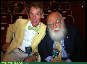 Bill Nye and James Randi - Your argument is invalid
