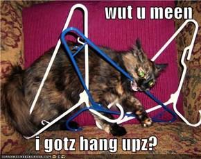 wut u meen   i gotz hang upz?