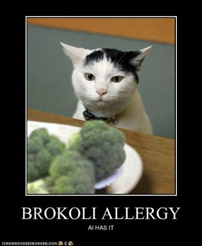 BROKOLI ALLERGY