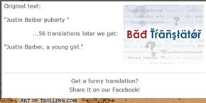 Bad translator win