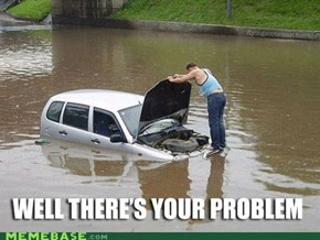 Just Need to Float Down to Autozone...