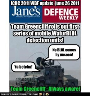 Team Greencliff : Always aware