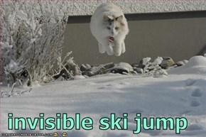 invisible ski jump