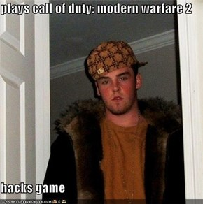 plays call of duty: modern warfare 2  hacks game