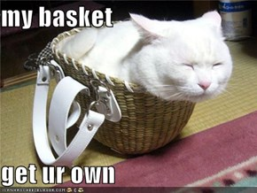 my basket   get ur own