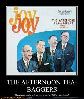 THE AFTERNOON TEA-BAGGERS