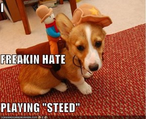 "I  FREAKIN HATE PLAYING ""STEED"""