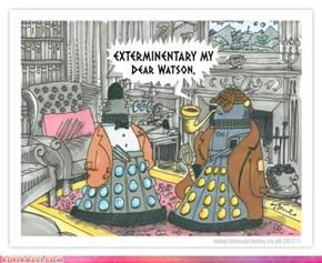 Dalek Holmes & Dalek Watson