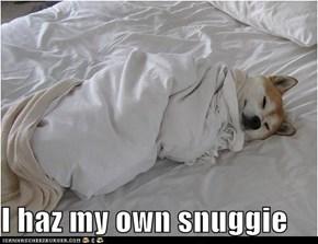 I haz my own snuggie