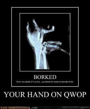 YOUR HAND ON QWOP