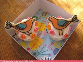 Epicute: Whimsical Bird Cupcakes