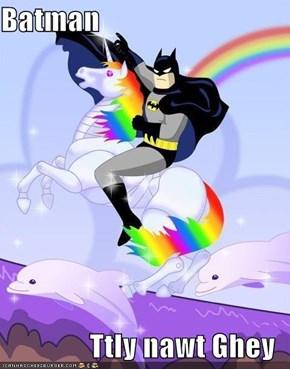 Batman  Ttly nawt Ghey