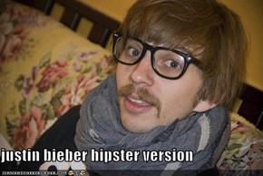 justin bieber hipster version