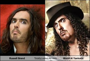 Russell Brand Totally Looks Like Weird Al Yankovic