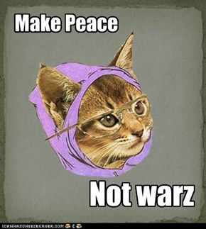 Make Peace Not warz