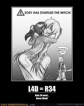 L4D = R34