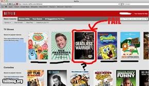 Netflix Comparative Suggestion Fail