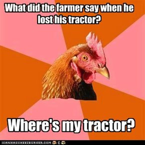 Where's my tractor?