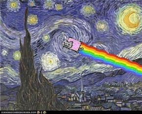 Nyan Cat...  NYAN NYAN NYAN