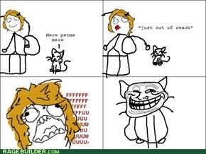 Cat! Why u always do this?