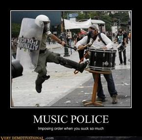 MUSIC POLICE