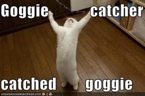 Goggie             catcher  catched         goggie