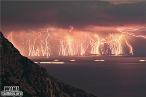 Mother Nature FTW: Lightning Storm Party
