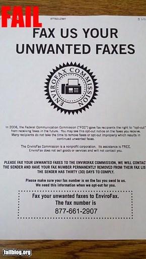 Fax Fail