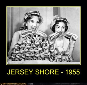 JERSEY SHORE - 1955